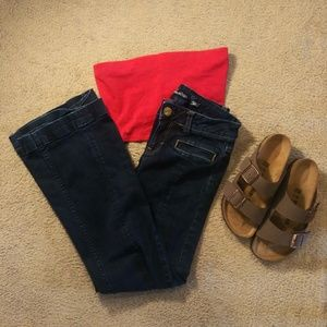🔴5/$25 Flare Jeans - American Eagle, 2